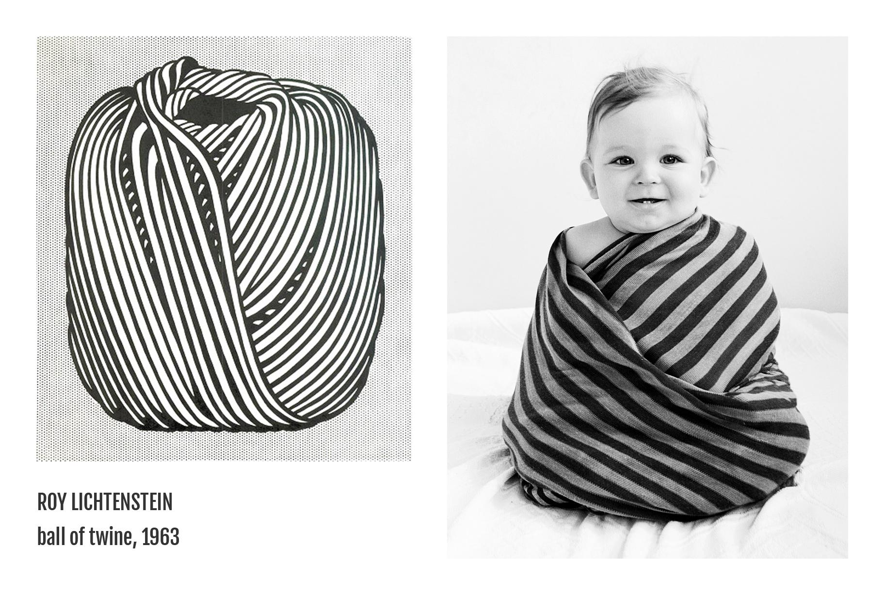 Roy Lichtenstein - Ball of twine