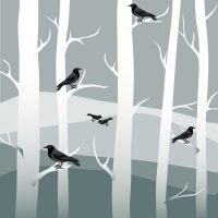 winter-trees-black-crows